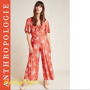 NWT ANTHRO⭐️Top Rated⭐️ Jacobella Jumpsuit size M